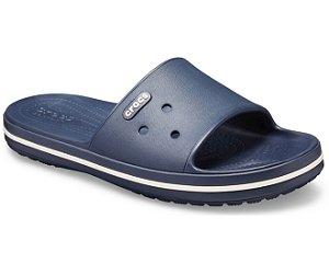 Chinelo Crocs Crocband™ III Slide Navy/White
