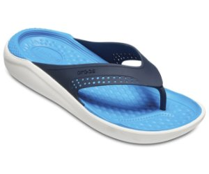 Chinelo Crocs LiteRide™ Flip Azul