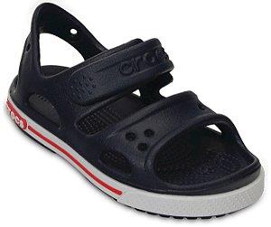 Sandália Crocs Infantil Crocband II - Azul Marinho/Branco
