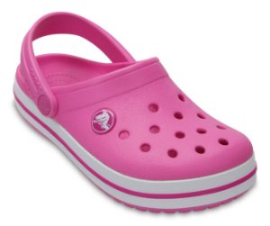 Sandália Crocs Infantil Crocband™ Clog - Party Pink