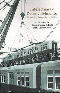 """<span class=""""bn"""">Intelectuais e desenvolvimento: perspectivas da pesquisa em História</span><span class=""""as"""">Dilma Andrade de Paula <br> Maria Letícia Corrêa [org.] </span>"""