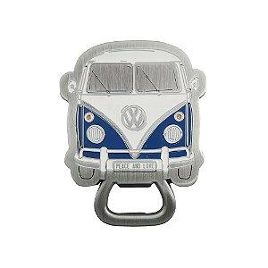 Abridor de garrafas VW Kombi azul