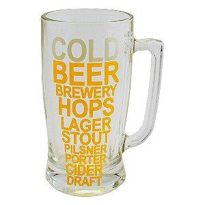 Caneca de vidro taberna tamanho grande Cold Beer