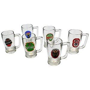 Conjunto 6 canecas Taverna Bitter