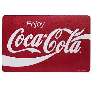 Jogo Americano Coca-cola Enjoy vermelho 43,5x28,5cm