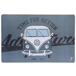 Jogo Americano VW Kombi Adventure cinza 43,5x28,5cm