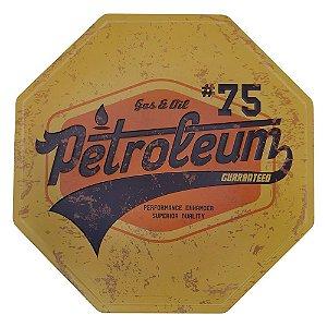 Placa decorativa 75 Petroleum