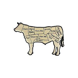 Placa decorativa COW