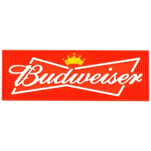 Tapete de borracha Bar Budweiser