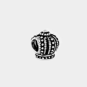 Charm Coroa Prata 925