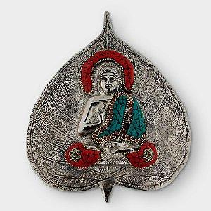Enfeite para Parede Buda Folha