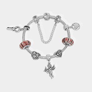 Pulseira Cupido Charm Prata 925