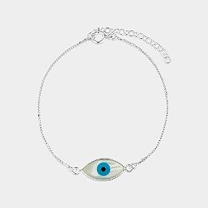 Pulseira Místico Olho Grego Prata 925