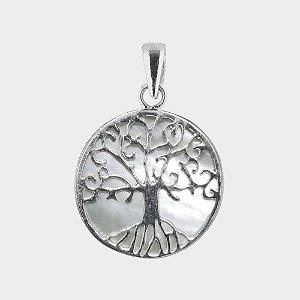 Pingente Árvore da Vida em Madrepérola e Abalone