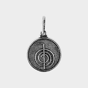 Pingente Símbolo Reiki em Prata 925