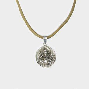Conjunto Ganesha em Prata 925