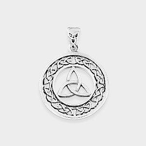 Pingente Místico Triskle Prata 925
