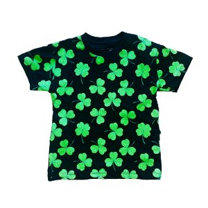 Camiseta Infantil Trevos