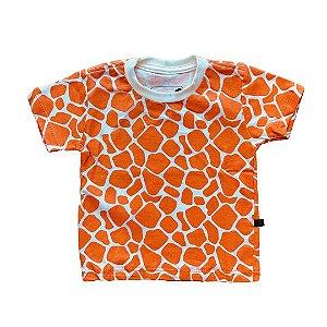 Camiseta Infantil Girafa