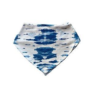 Babador Bandana Algodão Tie Dye