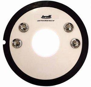 "Controlador de Caixa Torelli Low Pitch Drum Head 14"" c/ Platinelas TA520"