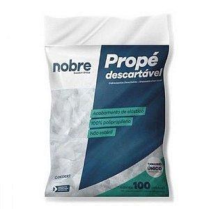 Sapatilha Descartável Propé 20G Pct c/ 100 unds - Nobre