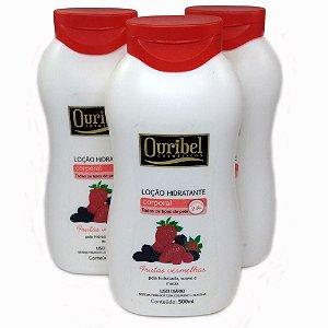 Loção Hidratante Frutas Vermelhas 500 mL - Ouribel