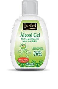 Ácool em Gel Antisséptico 60 mL - Ouribel