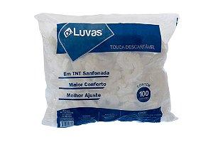 Touca Descartável Sanfonada TNT - Dr Luvas