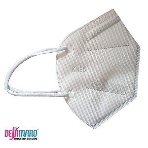 Mascara de Proteção KN95 PFF2 Branca - Dejamaro