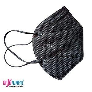 Mascara de Proteção KN95 PFF2 Preta - Dejamaro