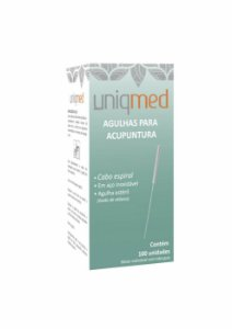 Agulha Para Acupuntura 0,25 x 40mm - Uniqmed
