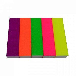 Bloco Polidor de Unhas Neon Pct c/ 10 Unds - NT Flex