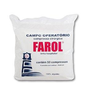 Campo Operatório Com Raio X 45x50 Pct c/50 - Farol
