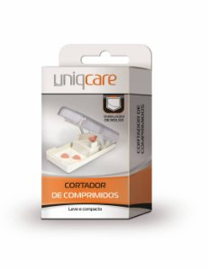 Cortador De Comprimidos - Uniqcare
