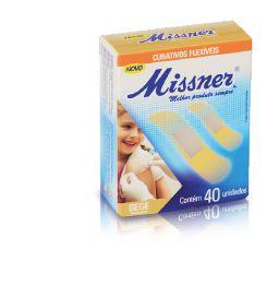 Curativo Flexível Bege Translúcido Cx c/ 40 Unds - Missner