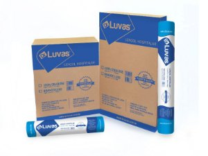 Lençol de papel 70cmx50m 100% Celulose Cx c/ 10 rls - Dr. Luvas