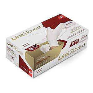 Luva de Procedimento Látex Sem Pó Powder Free - Unigloves