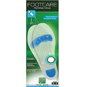 Palmilha Siligel Tamanho 38-39 - Footcare Vital Safe