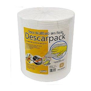 Pano Multiuso Branco 28cm X 300m - Descarpack