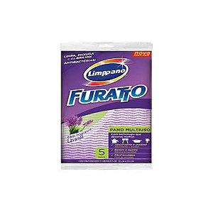Pano Multiuso Furatto Lavanda Pct c/ 5 Unds - Limppano