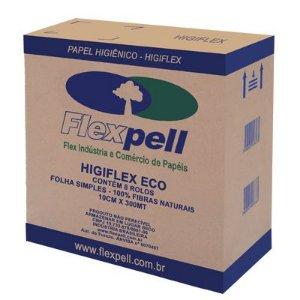 Papel Higienico ECO Cx c/ 8 Rolos - Flexpell