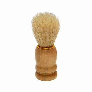 Pincel de Barba Grande Cabo Madeira - NT Flex