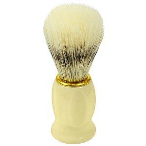 Pincel de Barba Luxo Cabo Plastico - NT Flex