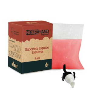 Sabonete Espuma Bag 600ml Burit- Nobre