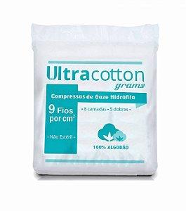 Compressa Gaze Não Estéril 9 Fios - Ultracotton Grams