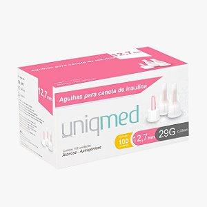 Agulha para Caneta de Insulina 12,7mm - Uniqmed