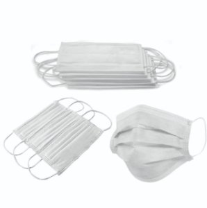 Mascara Cirurgica Tripla com Elástico Caixa C/ 50 Unidades - Luvix