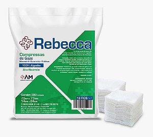 Compressa Gaze Não Estéril 13 Fios Pct C/500 Rebecca - America