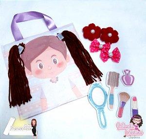 Livro Didático - Menina para por cabelo 2